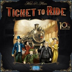 Ticket to Ride 10th Anniversary Box Art